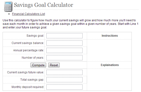 Dakota Plains Federal Credit Union Savings Calculator