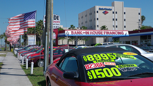 bank vs. dealer financing