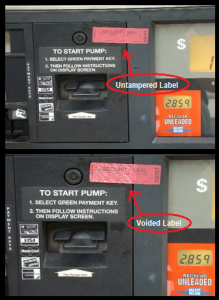 gas station credit card fraud