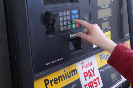 gas station credit card skimming